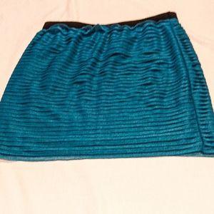 Target Blue Bodycon Skirt